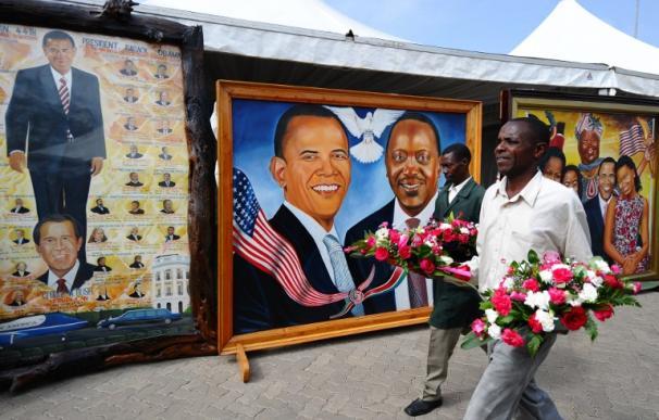 Kenia a la espera de Obama