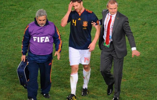 """Xabi Alonso afirma que tiene """"dolor en frío"""", pero espera """"estar ante Portugal"""""""