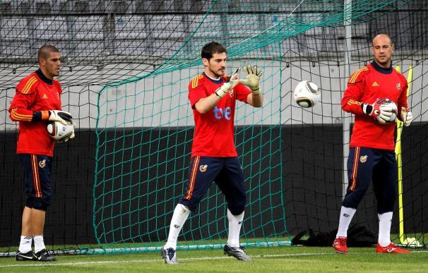 Casillas se convierte en el segundo jugador con más partidos con España