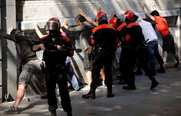Los convocantes dicen que el paro fue mayoritario y el Gobierno Vasco lo sitúa en el 25 por ciento