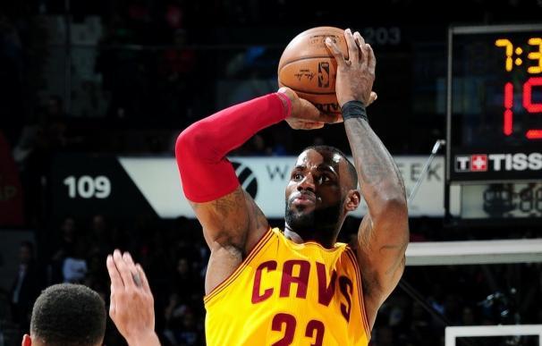 Récord de triples en la NBA para los Cavaliers