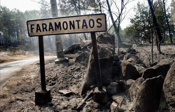 Controlados dos incendios y extinguidos otros dos en la provincia de Ourense