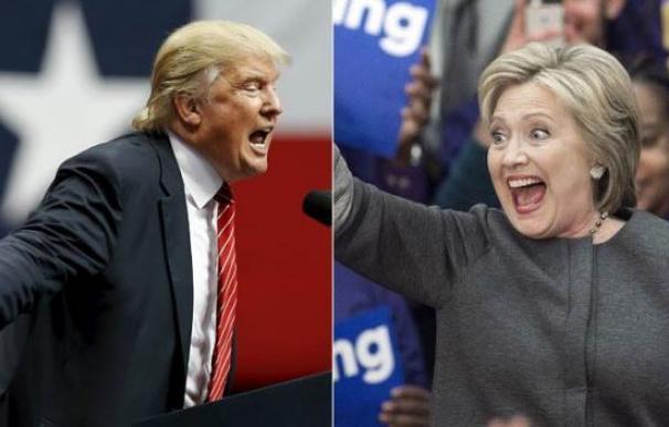 ¿Cómo sería una campaña entre Hillary y Trump?