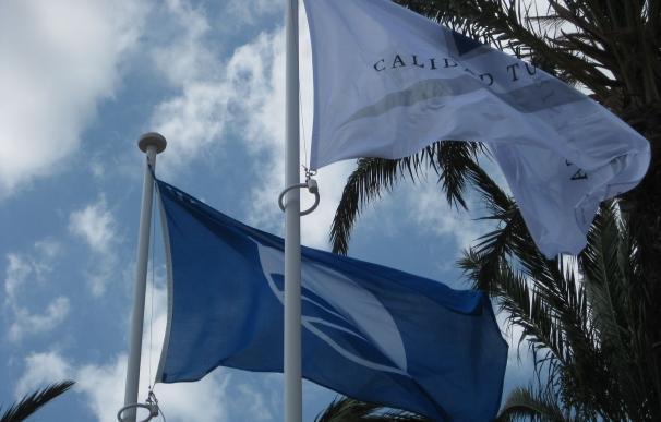 Murcia casi duplica en tres años sus playas con bandera azul