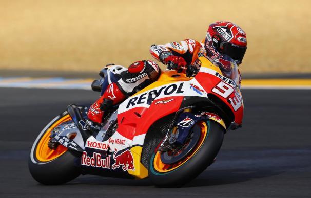 Márquez ganó su segunda carrera del año.
