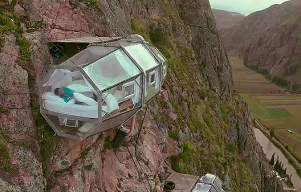 Habitación colgada en Los Andes