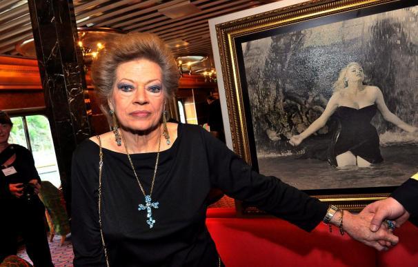 """Anita Ekberg reconoce que Agnelli fue el """"único verdadero amor"""" de su vida"""