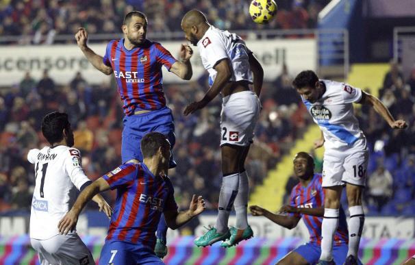 0-0: Levante y Deportivo mostraron sus carencias