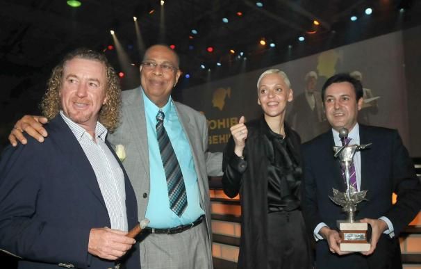 El presentador de Telecinco José Ribagorda es el Hombre Habano del Año