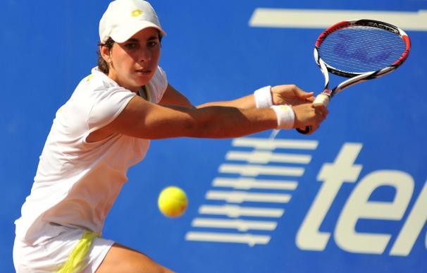 """""""Soy una aprendiz en el circuito de la WTA"""", dice Carla Suárez"""