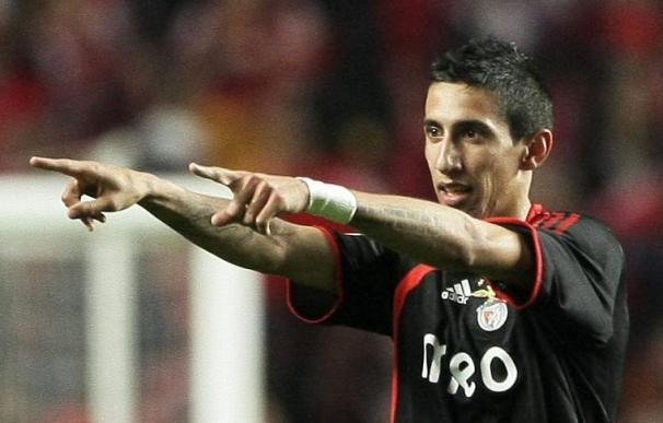 El Benfica dice que no ha vendido a Di María al Real Madrid