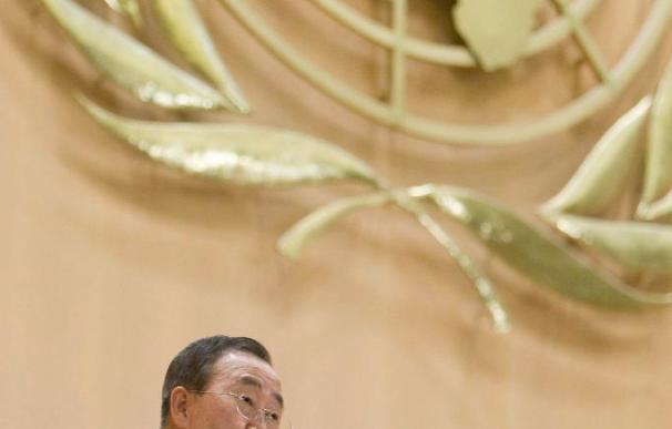 Ban Ki-moon ofrece ayuda a Chile tras el terremoto y expresa condolencias