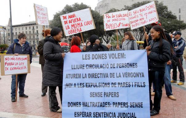 Un grupo de inmigrantes inician una huelga de hambre para reivindicar sus derechos