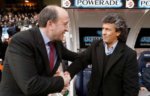 """Lotina asegura que su renovación con el Deportivo está """"muy cerquita"""""""