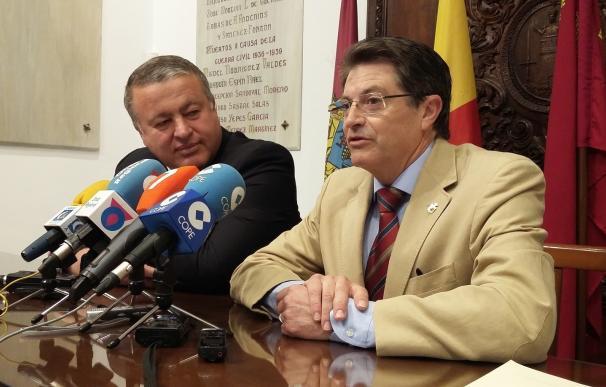 """Alcalde de Lorca subraya el impulso """"decisivo"""" que Francisco Bernabé ha otorgado a la construcción de la Nueva Lorca"""
