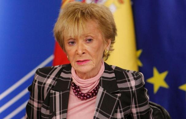 """De la Vega afirma que el Gobierno tiene toda su """"esperanza"""" en el diálogo"""