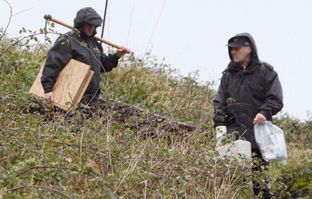 La Guardia Civil registra tres zulos de ETA en Vizcaya