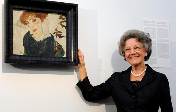 """El """"Retrato de Wally"""" de Schiele se instala en el Leopold Museum de Viena"""
