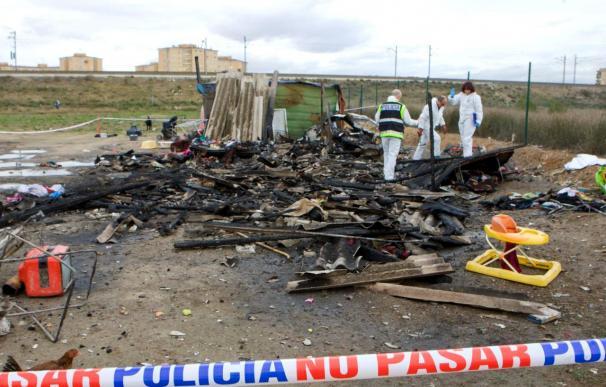 Continúan muy graves los hermanos de la niña fallecida en el incendio de una caravana en Zaragoza