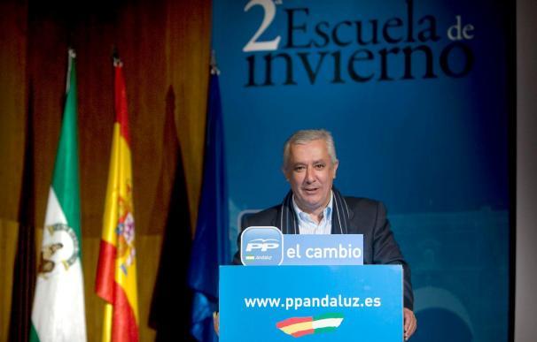 Arenas afirma que los vientos de cambio soplan ya en todos los rincones de Andalucía