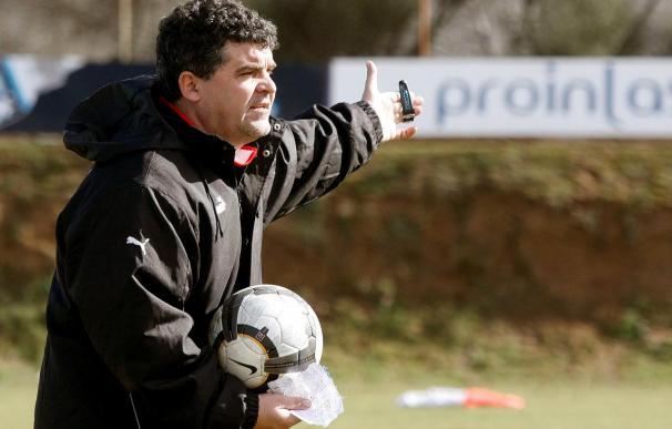 """El técnico del Valladolid asegura que """"el entrenador está en el mismo peldaño que el futbolista"""""""