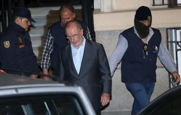 El exvicepresidente del Gobierno e imputado por el 'cado Bankia' Rodrigo Rato