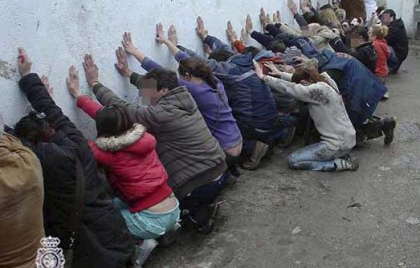 Trece detenidos en una operación contra el tráfico de drogas en Valdemingómez