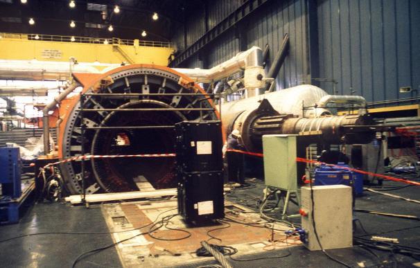 La Central Nuclear de Almaraz I registra una actuación no programada por el bajo nivel de agua