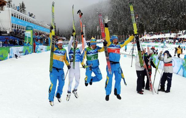 Hellner conduce a Suecia al triunfo en los relevos y suma su segundo oro