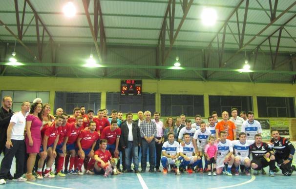 El Atlético Mengíbar, campeón de la Copa Presidente de Diputación de Fútbol Sala al vencer al Tito Candi