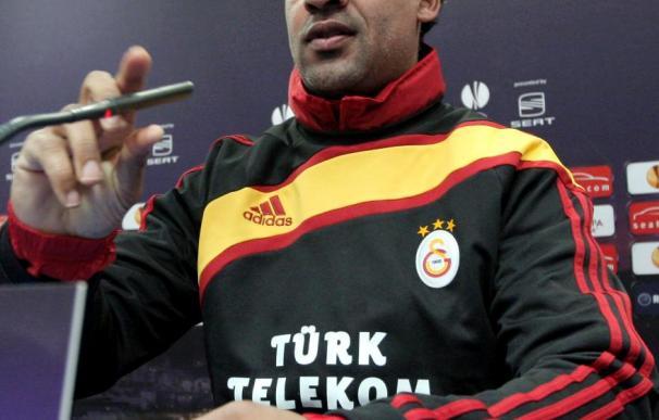 El entrenador del Galatasaray avisa de que Arda y Sabri serán dudas hasta última hora ante el Atlético