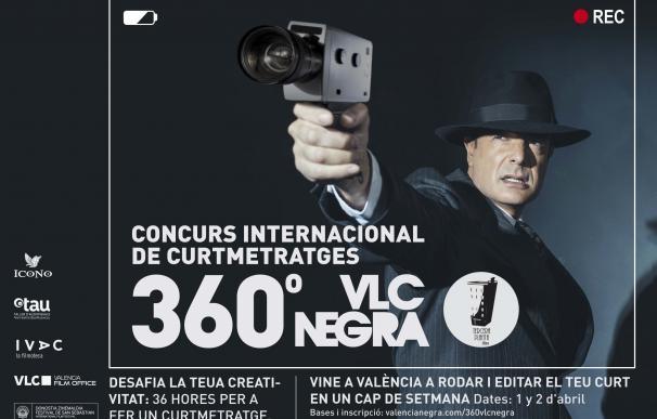 València se transformará en plató de cine de suspense con el nuevo formato del concurso de cortos 360°VLCNEGRA