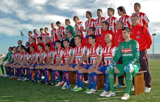 El presidente del Sporting valora la victoria en Zaragoza, aunque la permanencia no está lograda