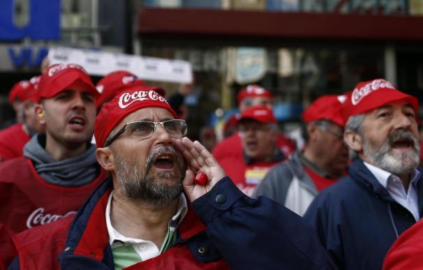 Coca-Cola pide a empleados de Fuenlabrada que le permitan iniciar las labores de mantenimiento del centro