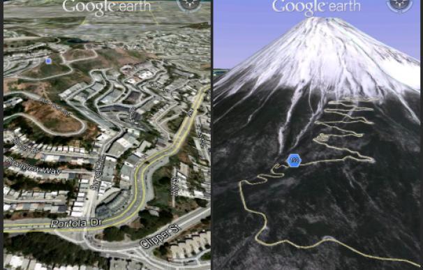 Google Earth certifica la fragmentación de Android