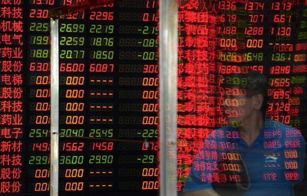Caídas de los indicadores chinos este lunes