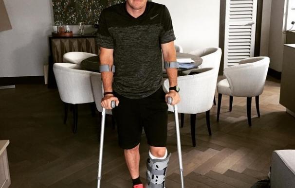 McIlroy se rompe jugando al fútbol antes del Abierto Británico