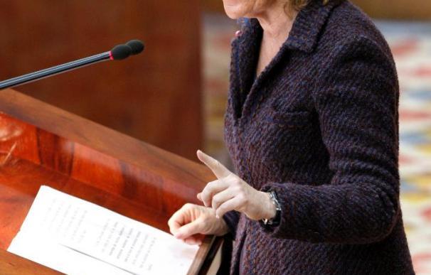 Aguirre exige a Zapatero un Gobierno de concentración si quiere un pacto