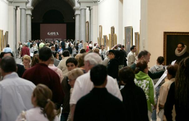 Los museos estatales recibieron 7,2 millones de visitas, un 5,2% más que 2008