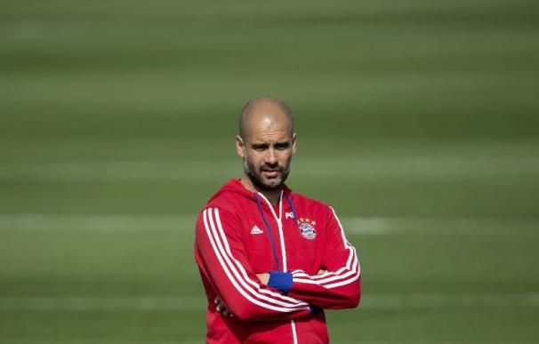 """Guardiola: """"La Bundesliga es difícil, nos podría pasar como al Dortmund"""""""