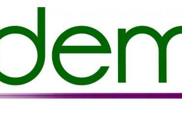 Logo verde morado de Podemos