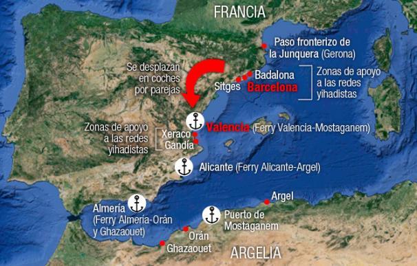 Cataluña se convierte en la nueva parada para los yihadistas que se unen al Califato