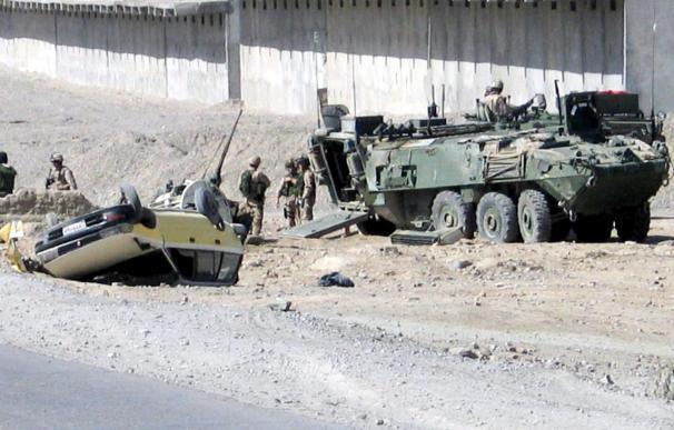 Mueren cuatro soldados británicos en un accidente en Afganistán