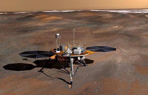 La NASA da por muerto el laboratorio Phoenix con el que exploró Marte