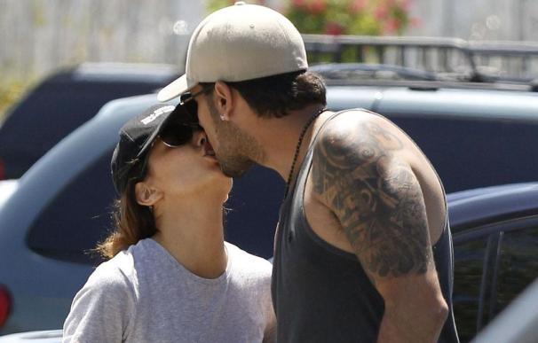 Eduardo Cruz y Eva Longoria sellan su reconciliación con un beso