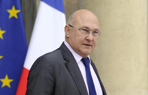 El ministro de Finanzas francés, Michel Sapin.