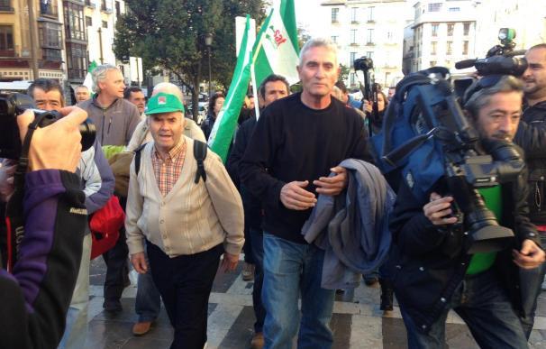 Absuelven a Diego Cañamero al no quedar probado que lanzara una piedra a un policía en 2009
