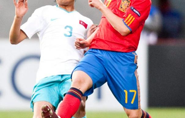 Los internacionales españoles apoyarán a la sub'17 en la final