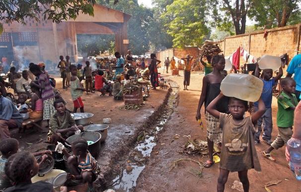 UNICEF alerta de que República Centroafricana puede convertirse en una nueva crisis olvidada