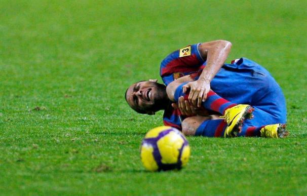 Dani Alves se entrena sin problemas y recibirá el alta para el Málaga